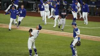 NLCS Braves Dodgers Baseball