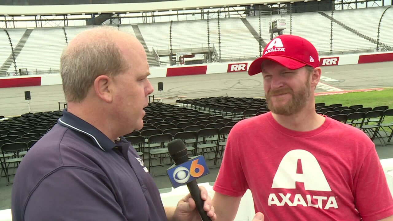 One on one with Dale EarnhardtJr.