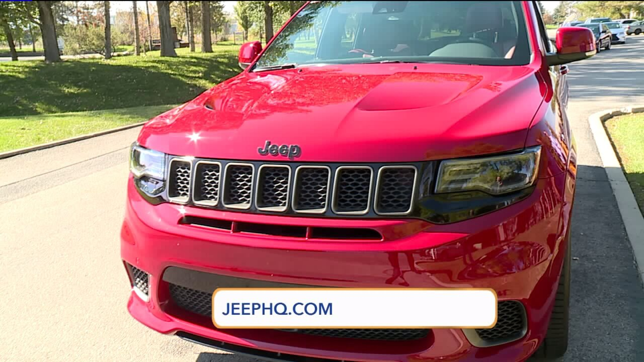 Fast Cars Friday: Jeep Grand Cherokee TrackHawk