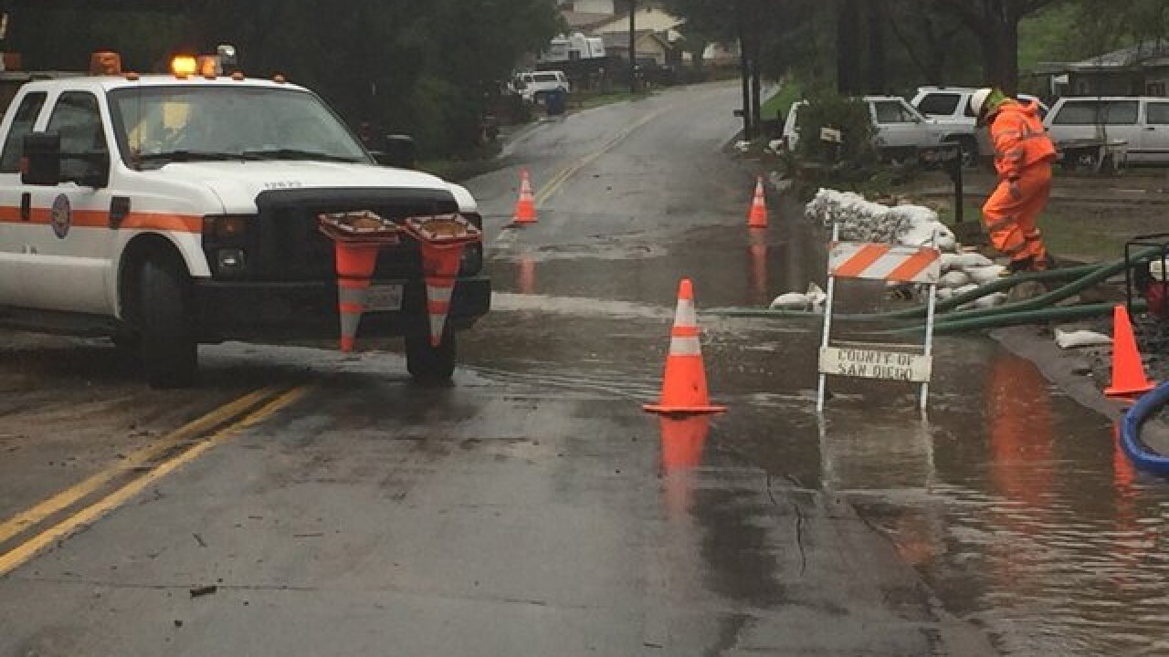 Mayor declares state of emergency after storms