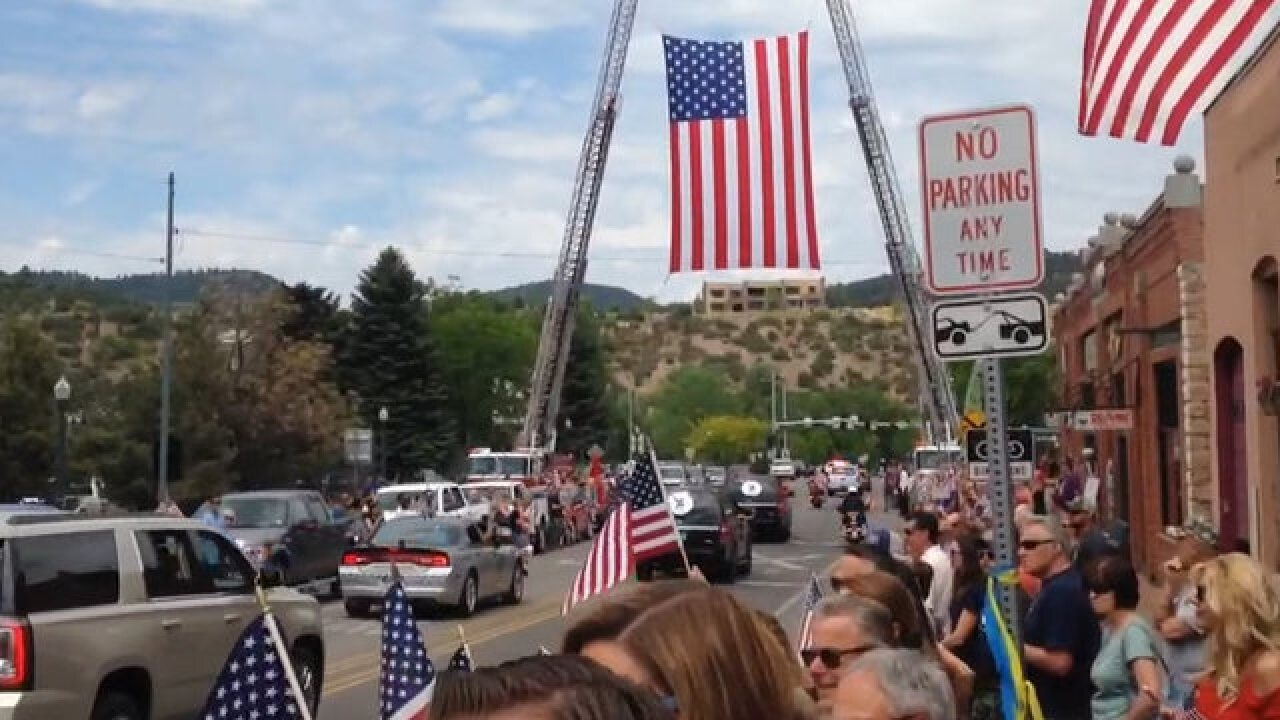 Blue Angels Pilot Buried In Durango, Colorado