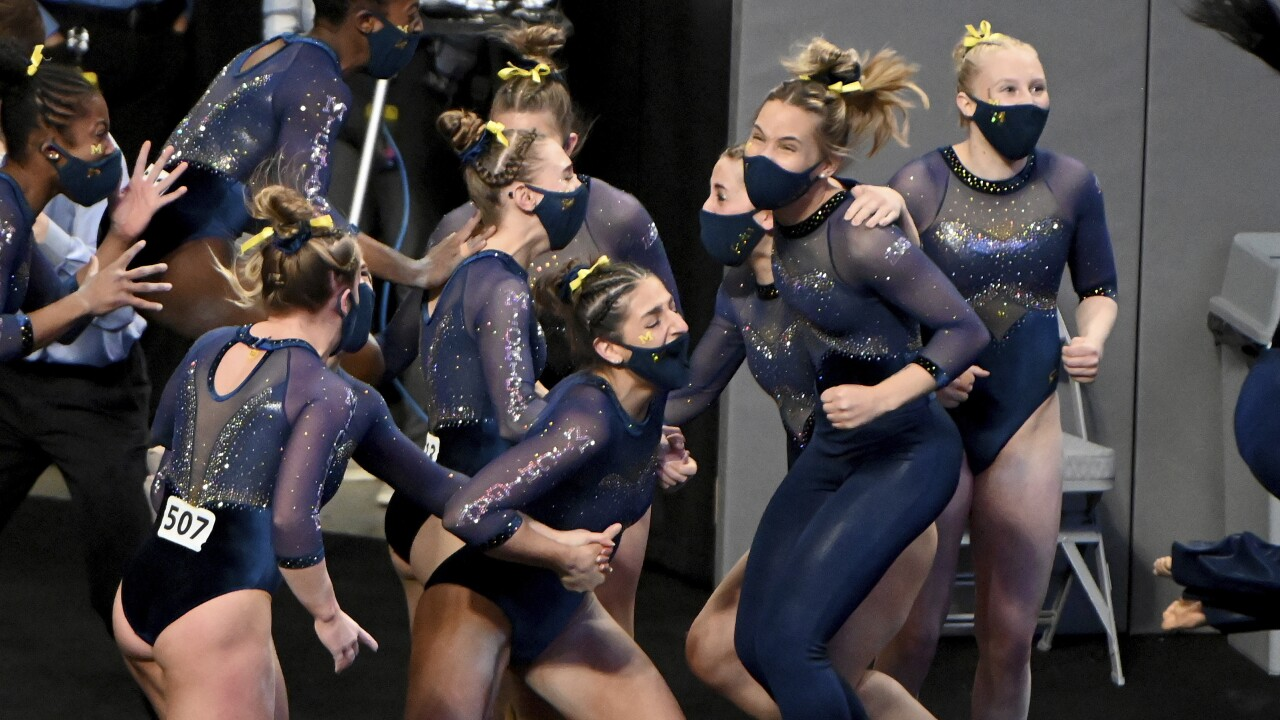 Michigan NCAA Womens Gymnastics Championships