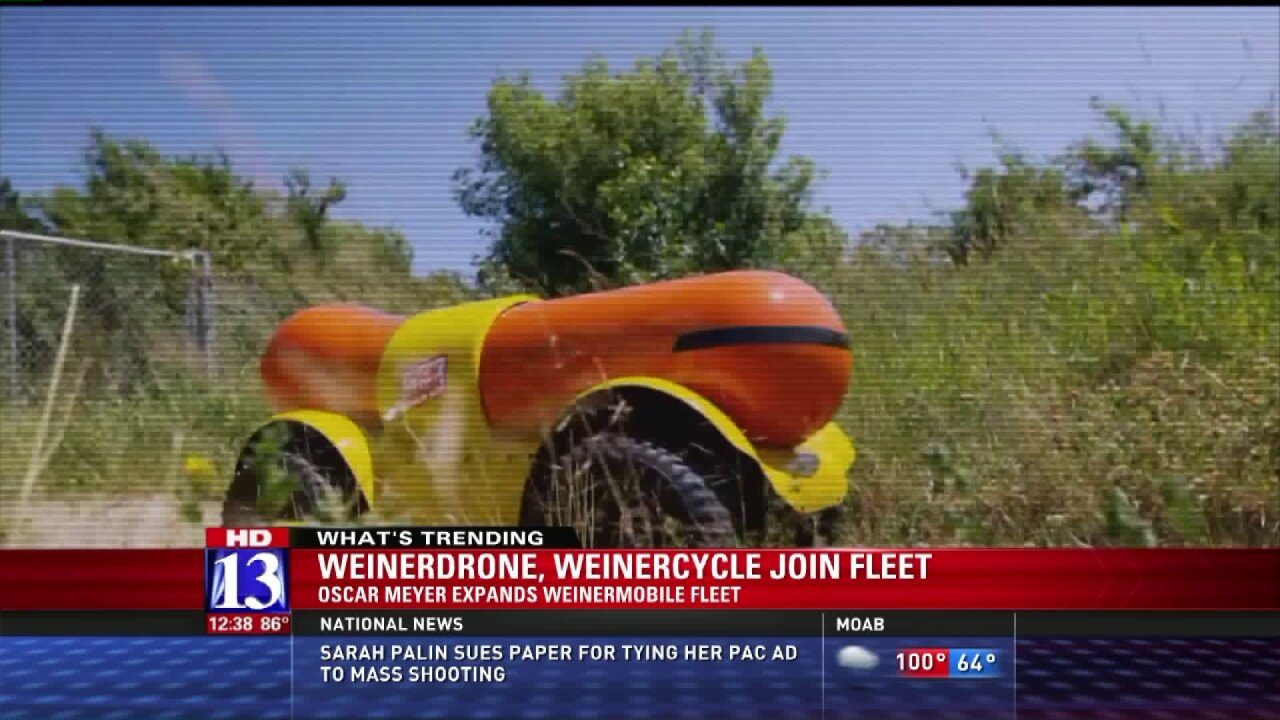 Oscar Meyer expanding Weinermobile fleet with Weinerdrone, Weinercycle
