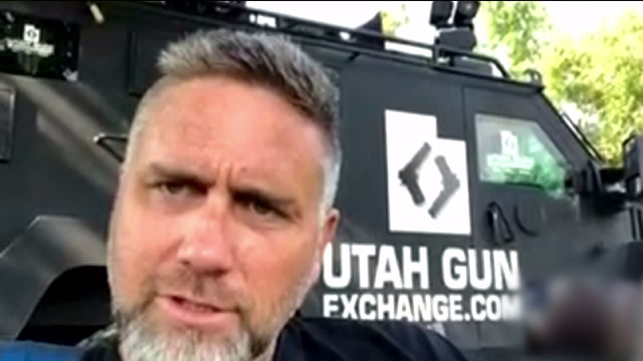 Co-owner of Utah Gun Exchange charged with weapons violations; possession of large amount of marijuana,cash