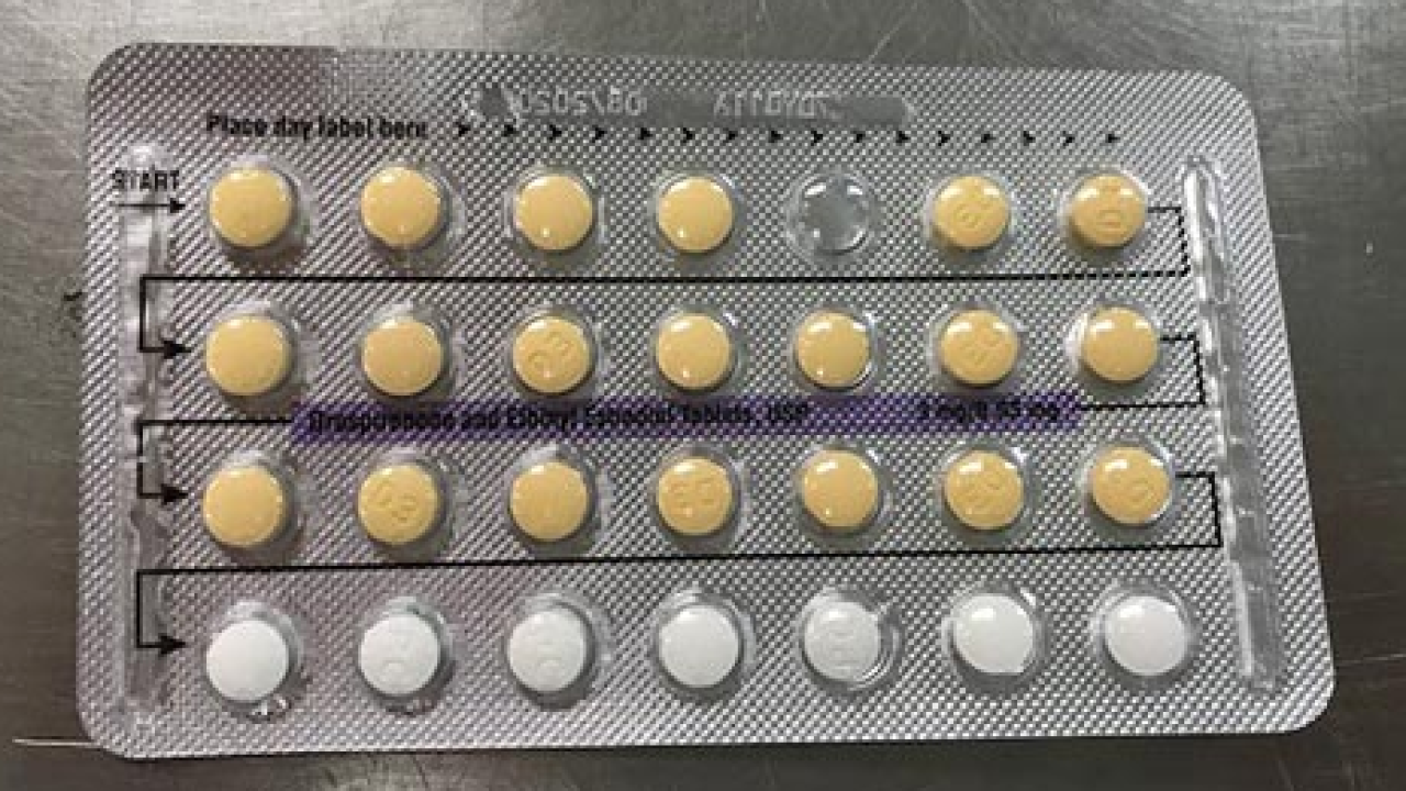Birth control tablet packs recalled due to incorrect arrangement