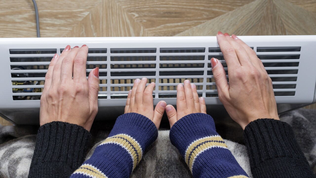 The best ways to keep your heating costs down during extreme cold