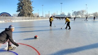 learn to curl session