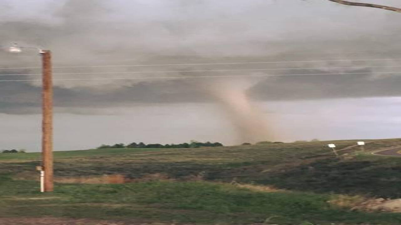 Tornadoes, hail touch down in Eastern Colorado
