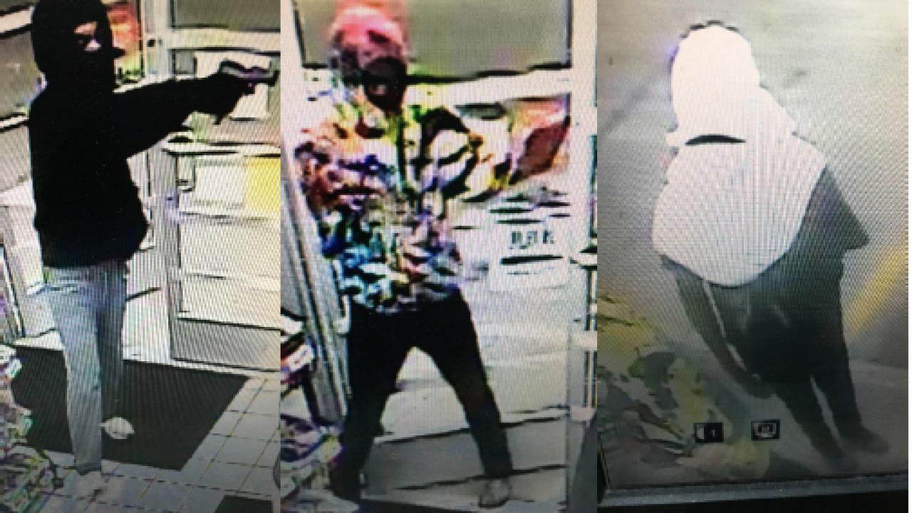 Virginia Beach police need help identifying gas station robbery suspects