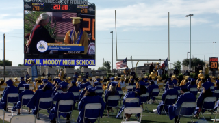 CCISD takes COVID-19 precautions at Moody, Ray High School graduations