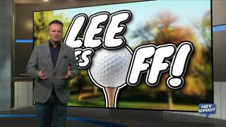 """Lee Tees Off!!!"""