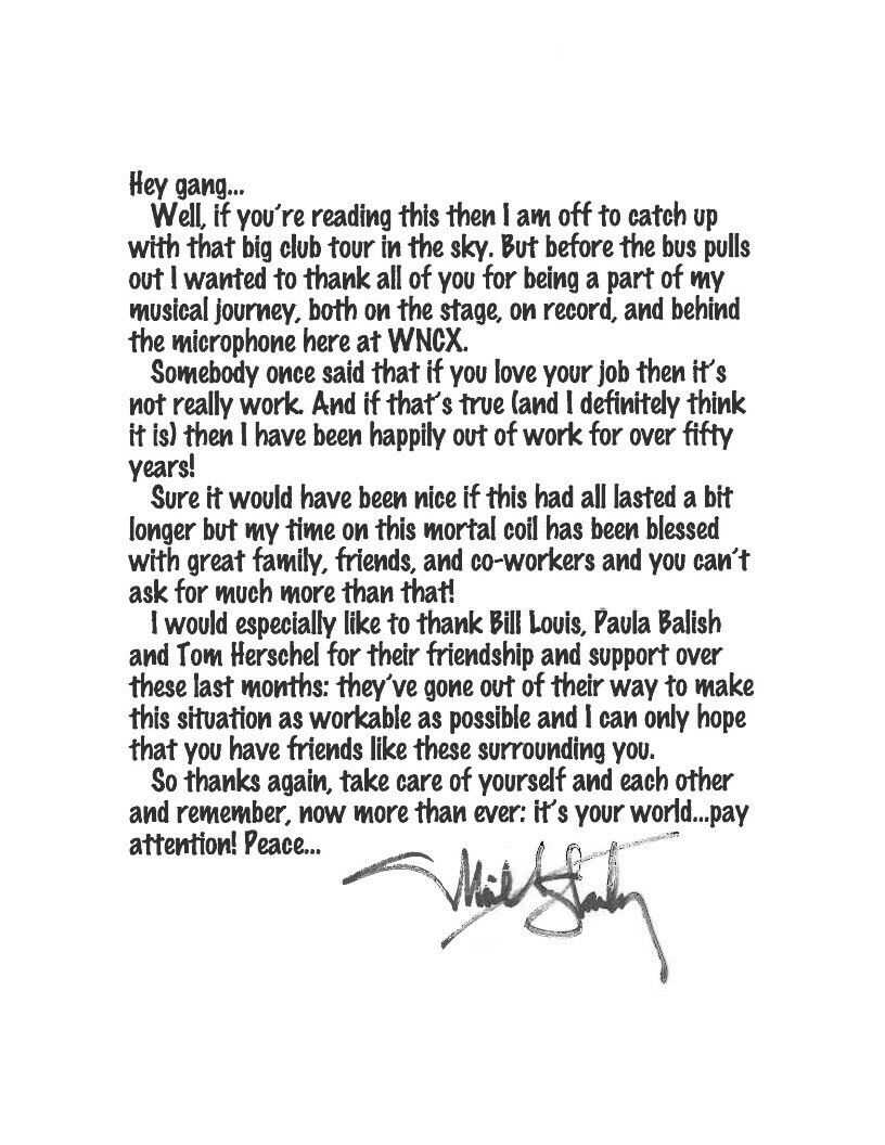 Michael Stanley's farewell letter to fans.jpeg