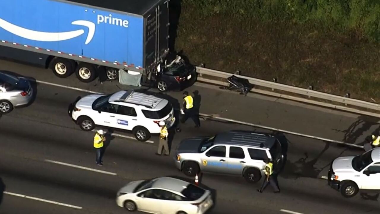 Police identify Henrico woman killed in crash with Amazon Prime truck onI-95