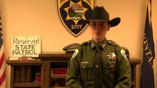 Montana Highway Patrol trooper Mackenzie Gifford