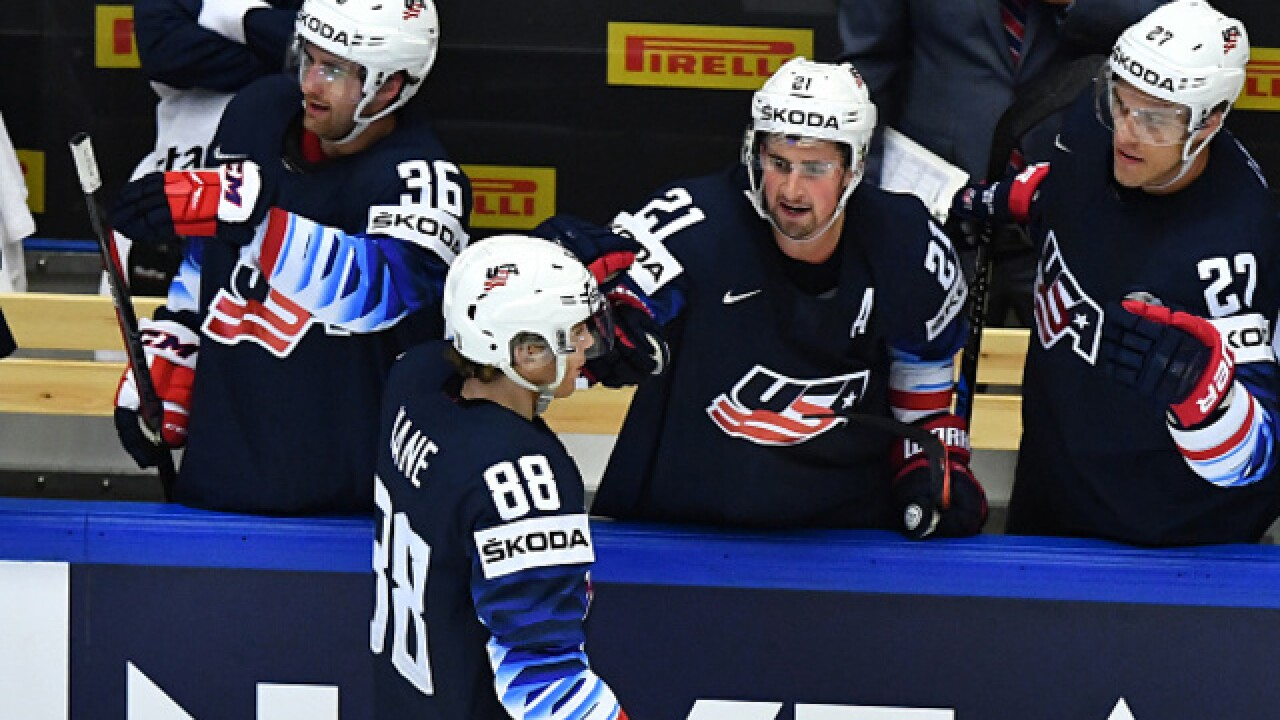 Patrick Kane leads USA into semis, with quarterfinal win over Czech Republic