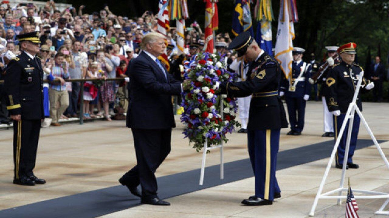 DC Daily: Trump hails heroes at Arlington