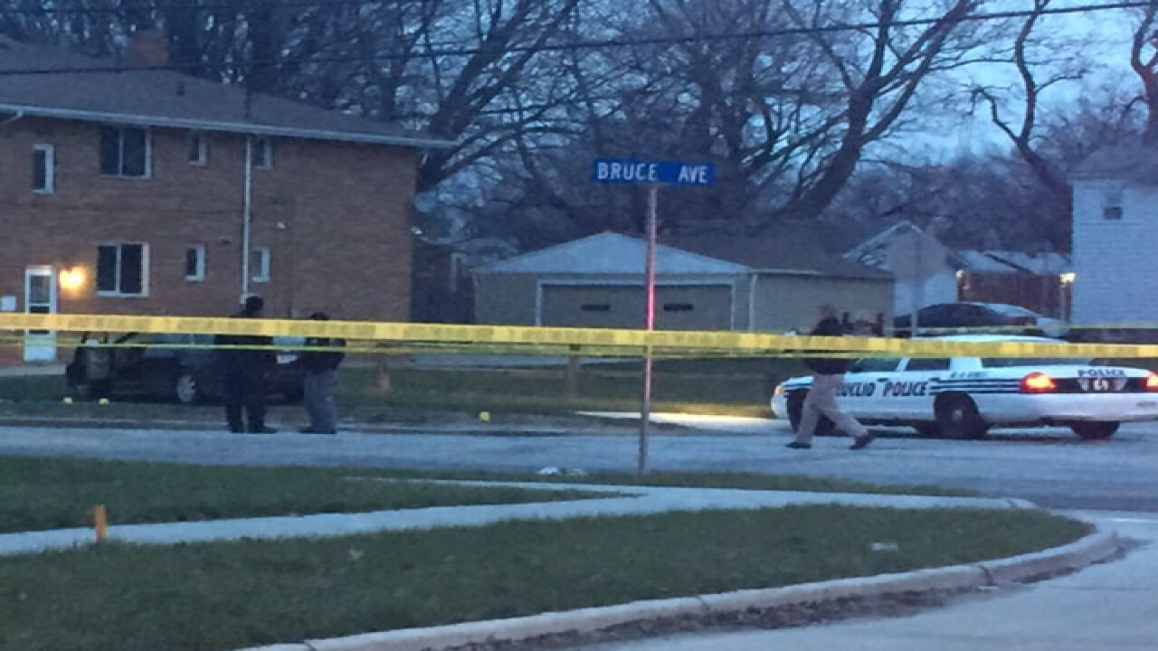 Officer-involved shooting in Euclid