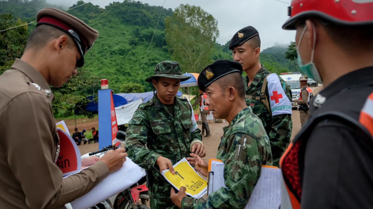Thai cave rescue: Trapped boys emerge