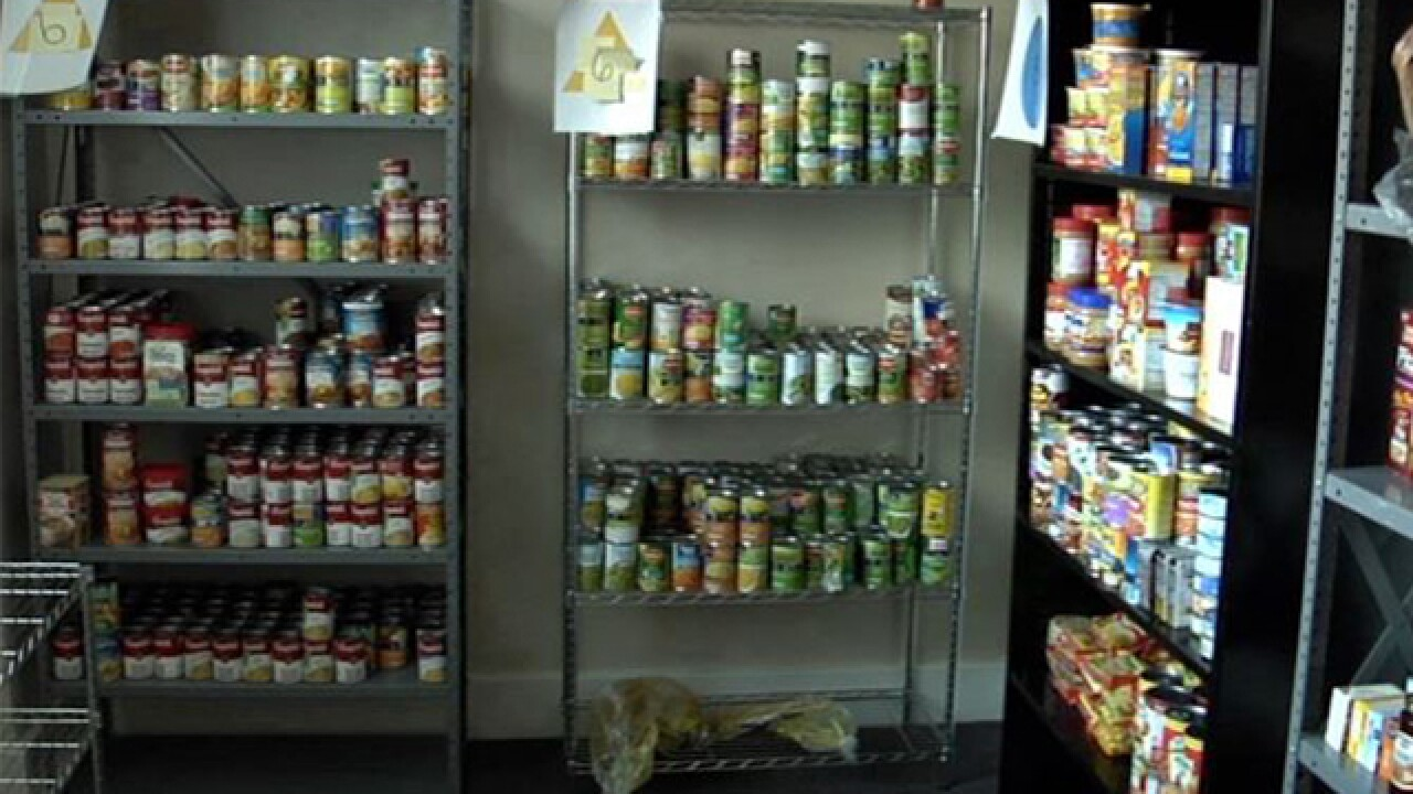 Food Drive To Help Restock The Big Blue Pantry