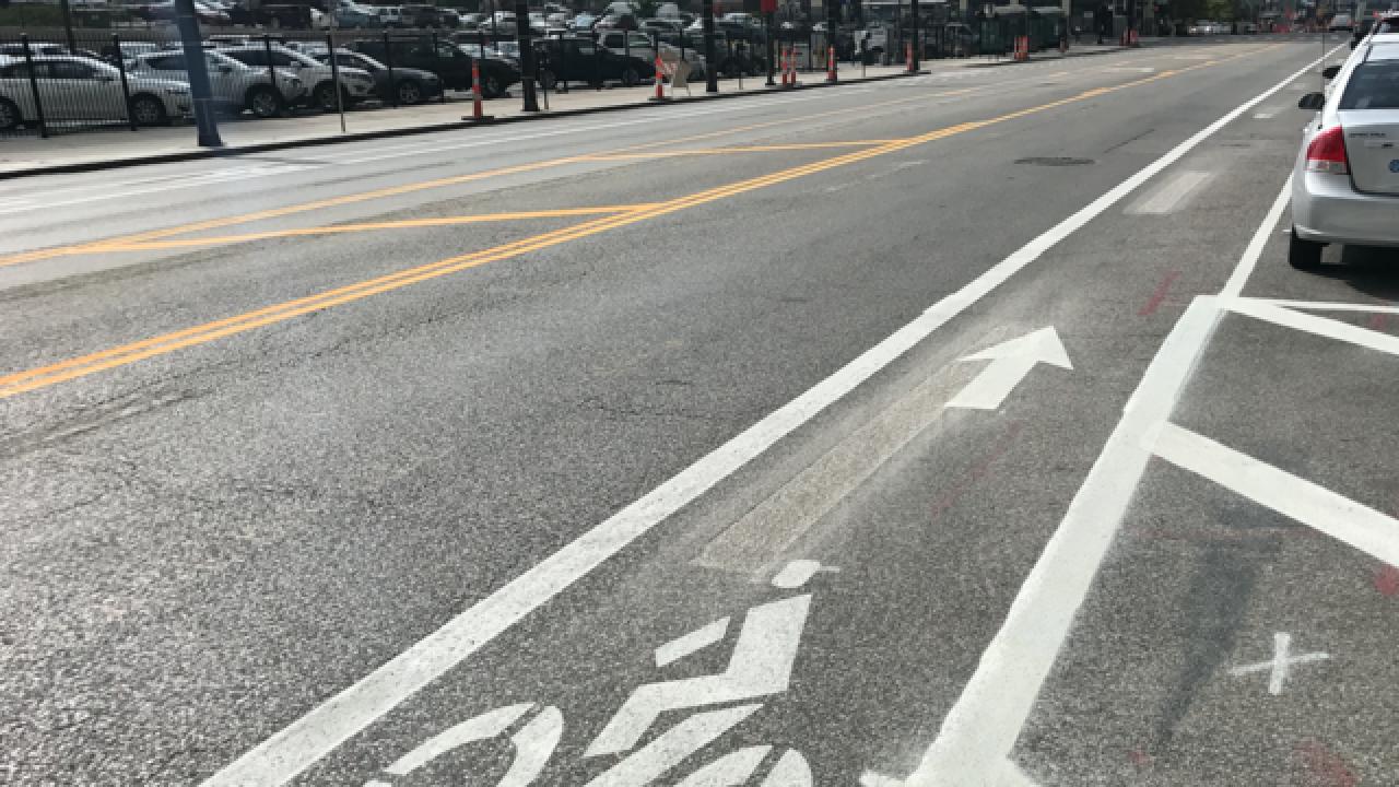 KC continues progress on Grand Blvd bike lanes