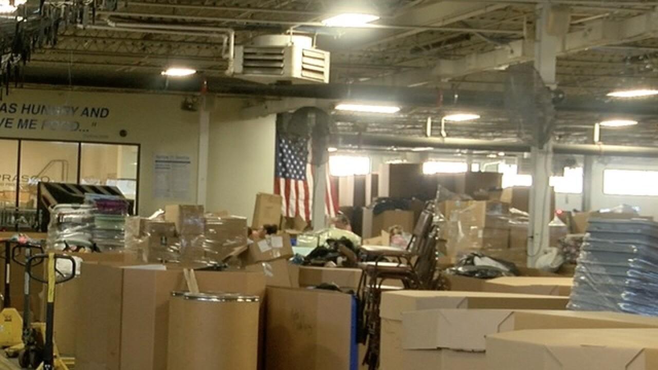 New building will aid Matthew 25's relief effort
