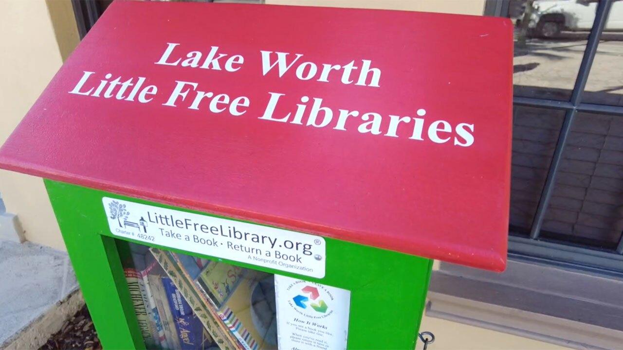 Lake Worth Beach Little Free Libraries