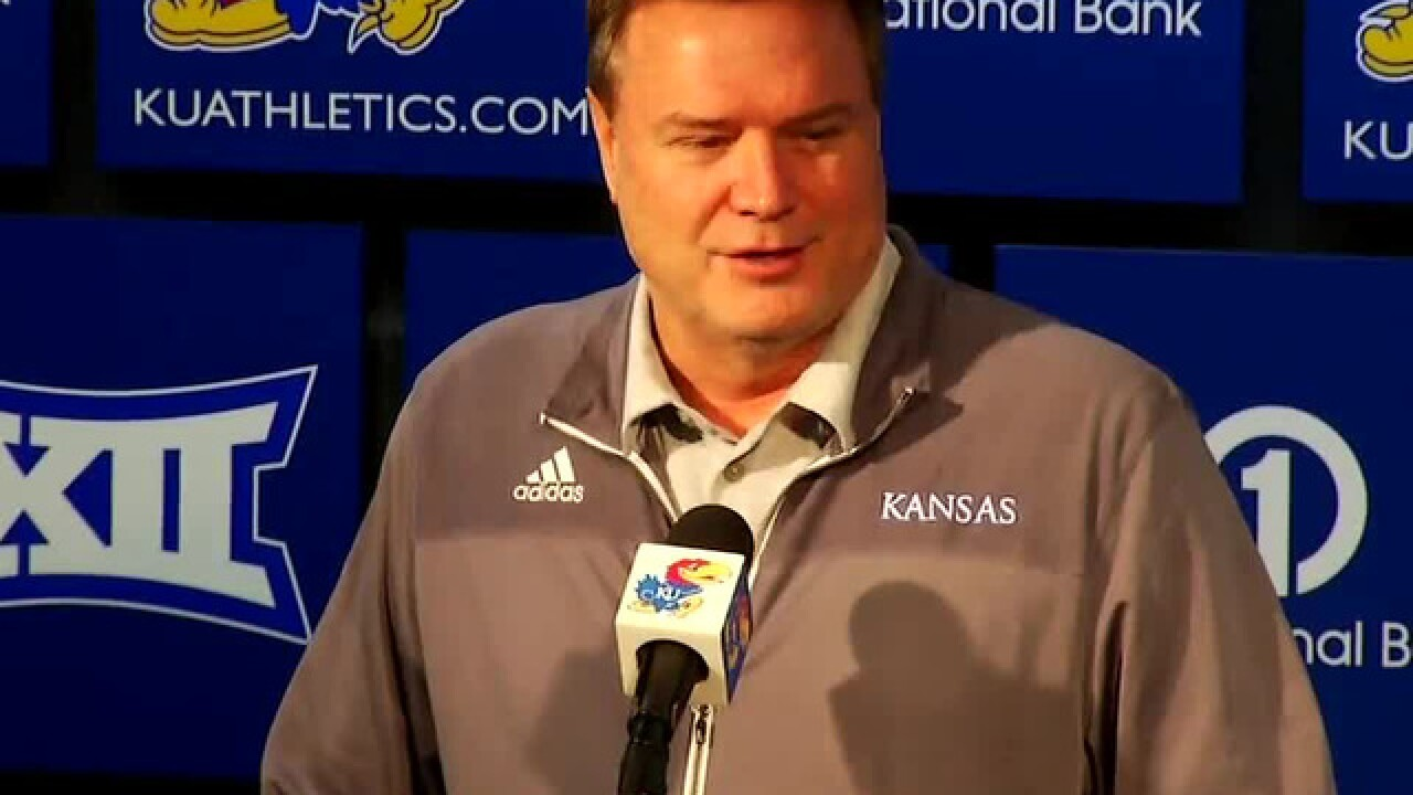 In final tuneup before Michigan State, Kansas takes care of Washburn