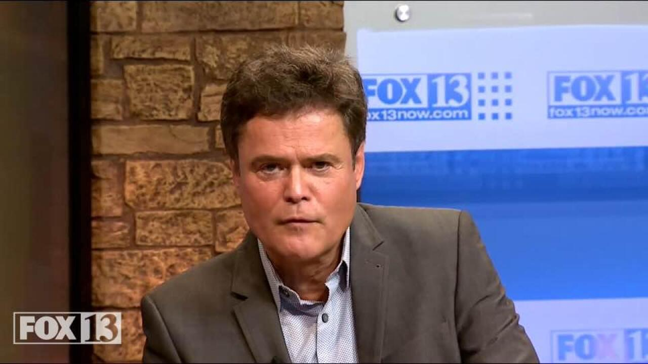 Donny Osmond to Hayward: 'Stay in Utah'