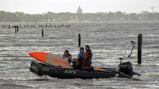 Double amputee veteran from Washington DC dies while paddle boarding on Chesapeake Bay