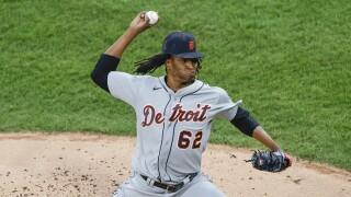 Jose Urena Tigers White Sox Baseball