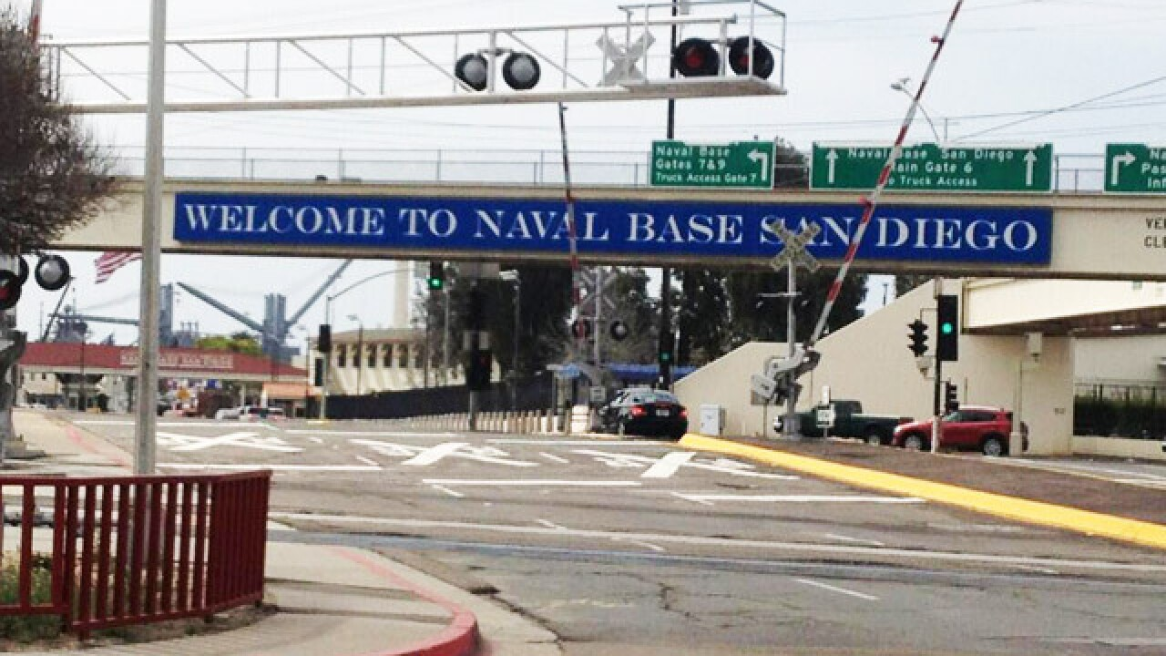 Bomb threat cleared at Naval Base San Diego