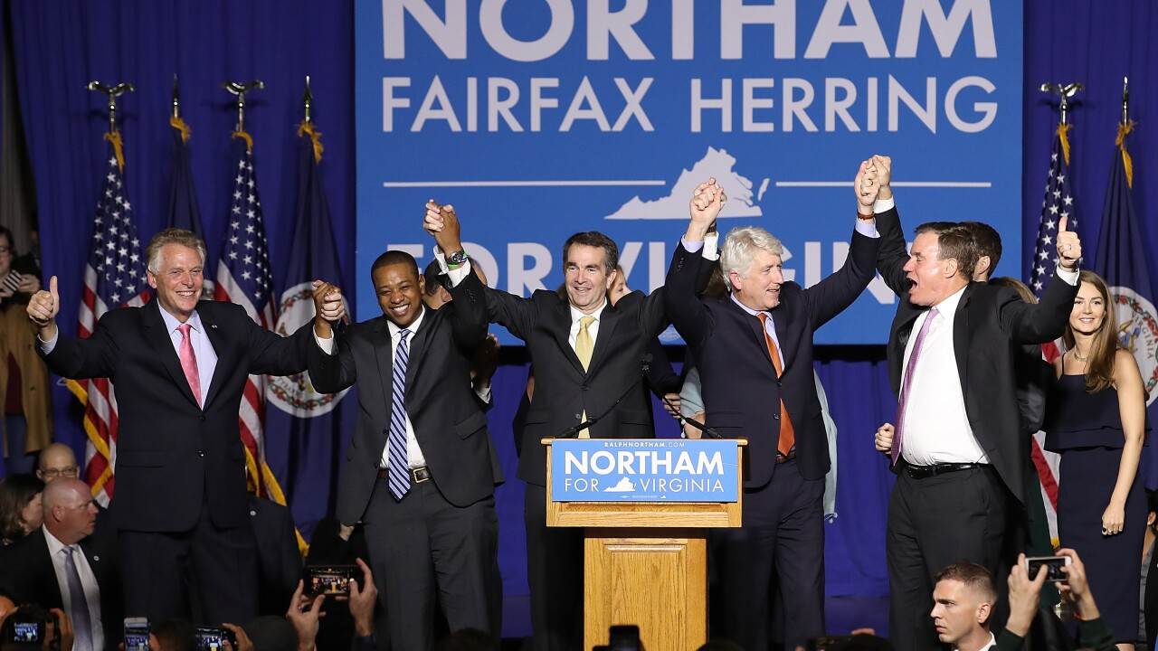 Sadness, disbelief and disgust: Virginia politics plunges deeper into chaos as Demsworry