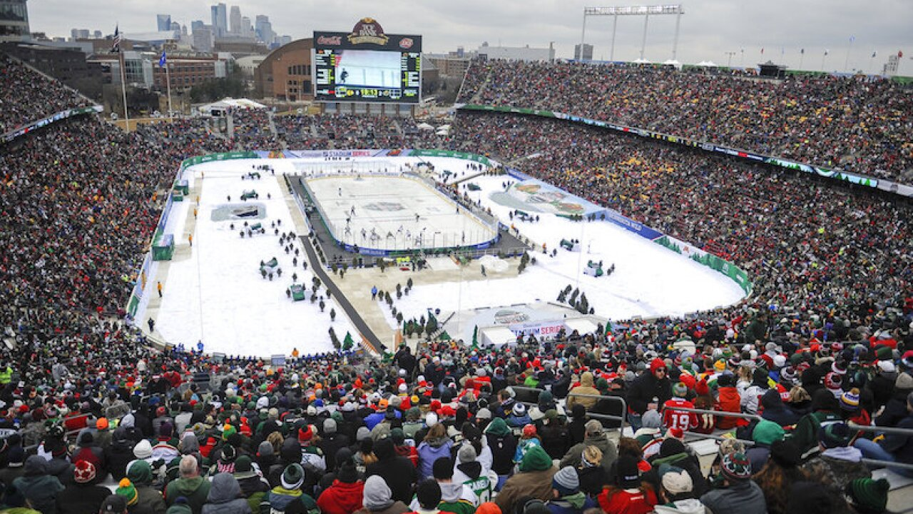 Wild Winter Classic Hockey