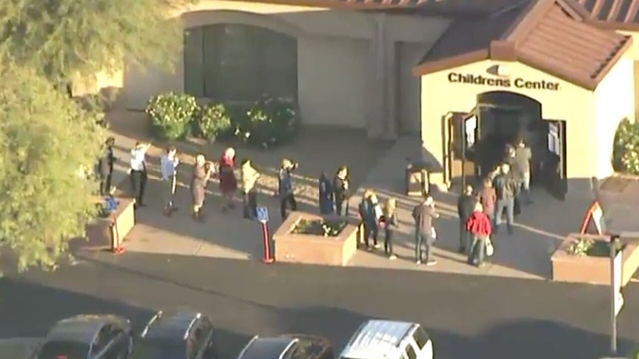 Chandler polling place experiencing issues