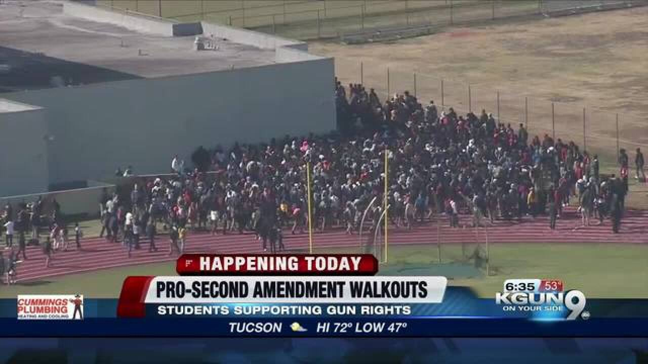 Pro-Second Amendment student walkouts planned
