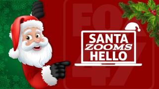 Santa Zooms Hello 1280x628