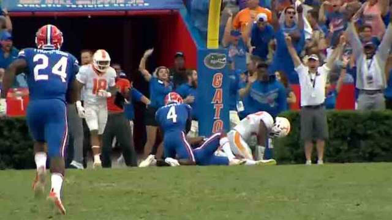 Vols Blow Early Chances In Heartbreaking Finish At Florida