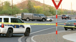 Phoenix police shooting near 55th Ave & Happy Valley Rd
