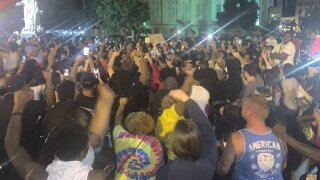 Reports: 7 protesters shot in Kentucky amid protests