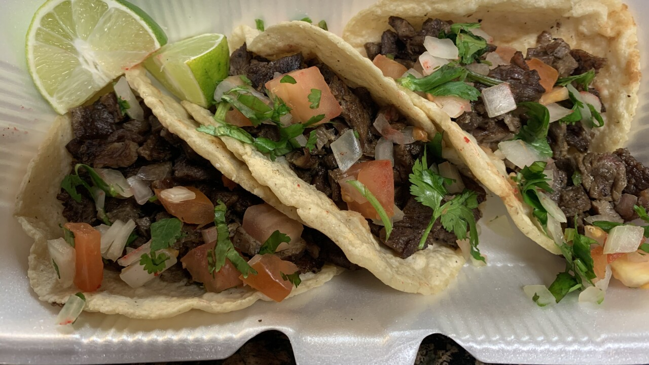 Abuela's Tacos is open for business