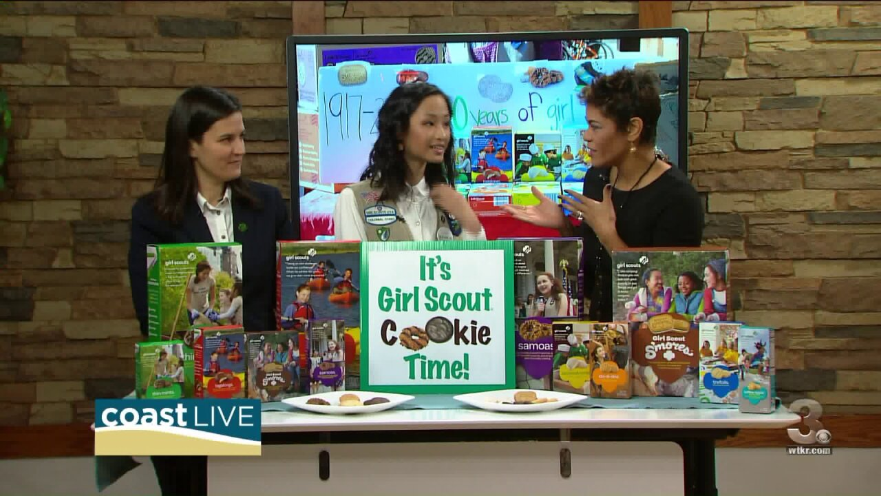 Getting ready for Girl Scout cookie season on CoastLive