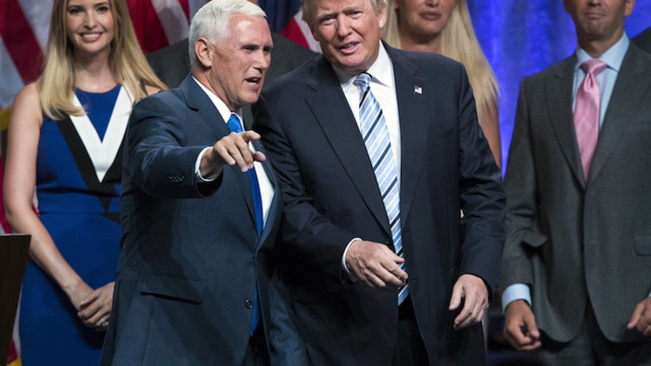 Trump introduces Mike Pence as running mate with low-key announcement