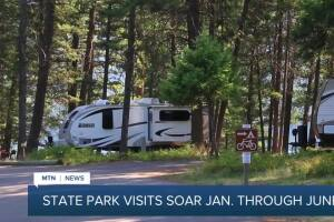 Montana state parks visits soar in pandemic year