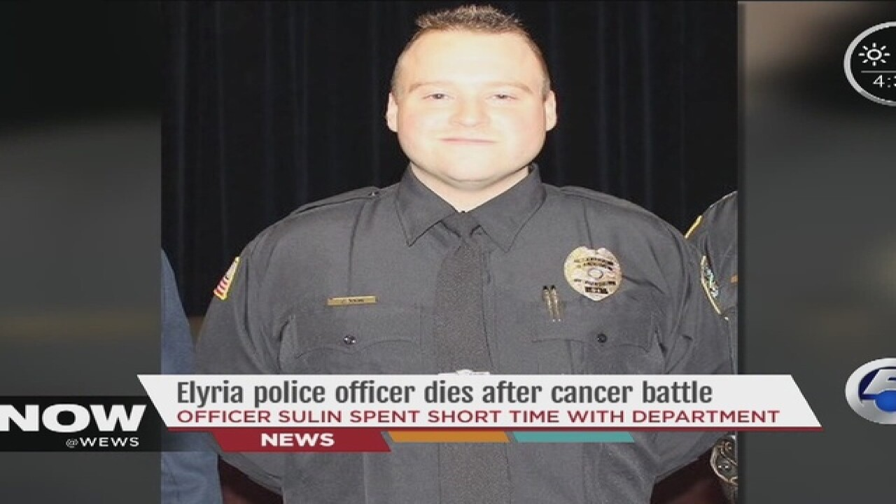 Elyria police officer loses battle with cancer