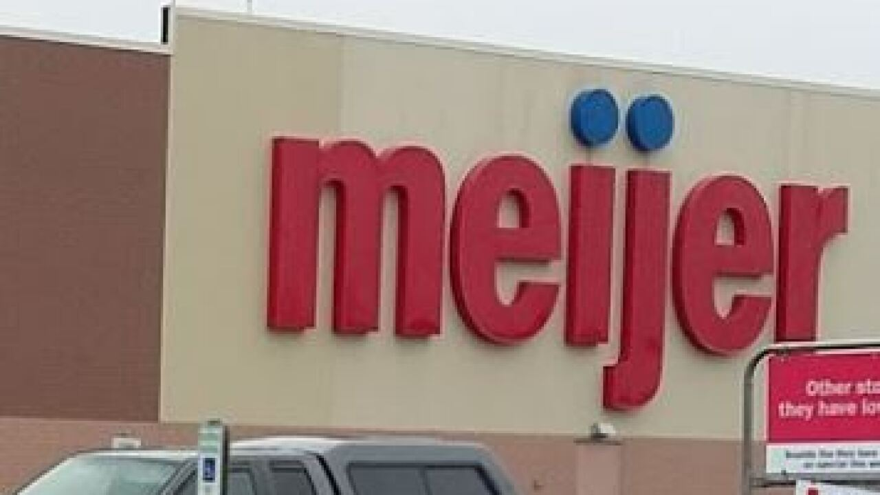 Meijer store sign 071120