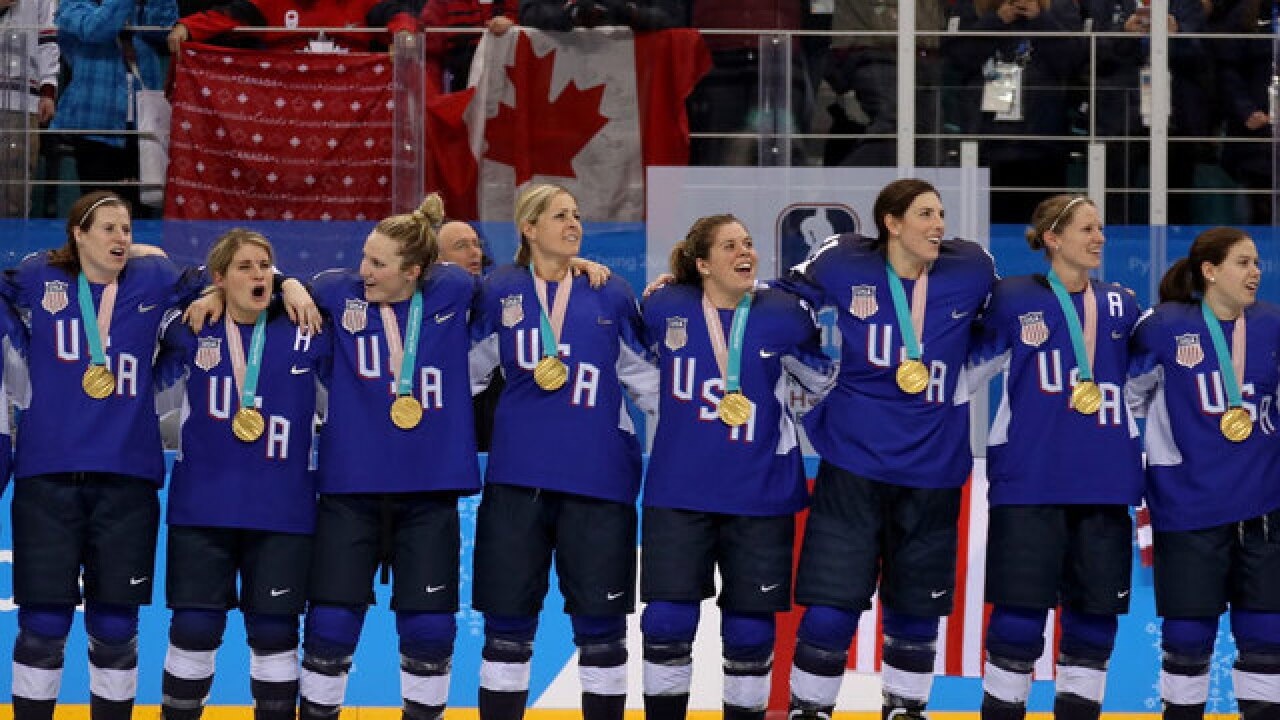 US women's hockey team ends drought, defeats Canada for gold in a shootout