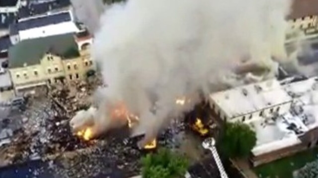 Wisconsin buildings destroyed by explosion to be removed