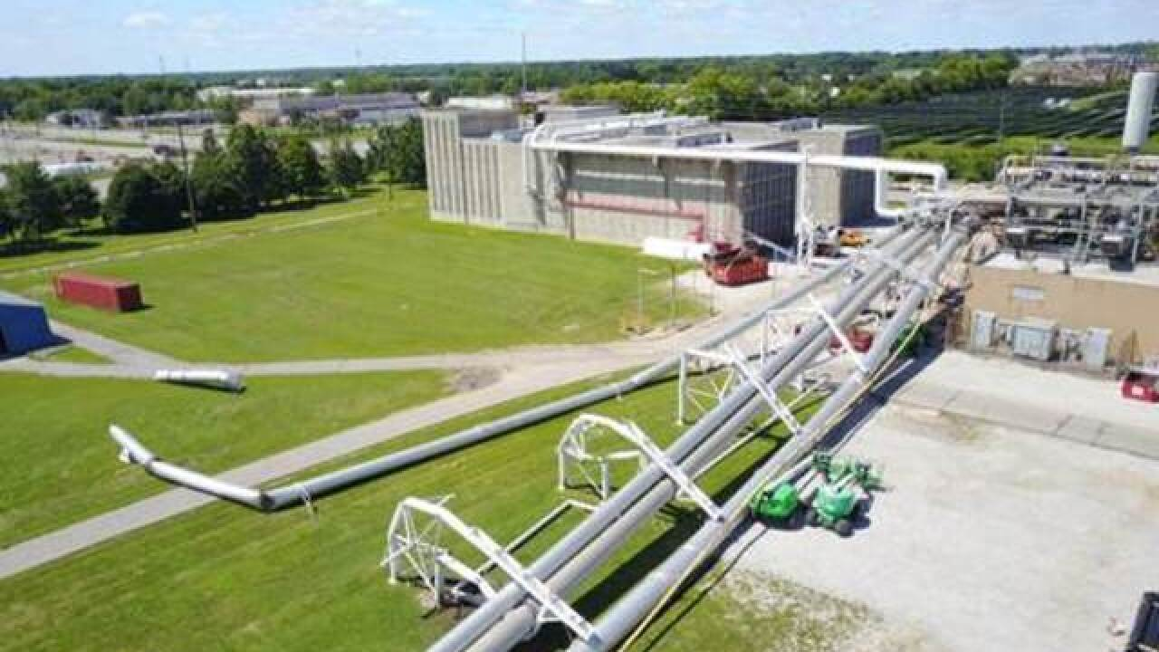 Structure collapses at Indy Rolls-Royce plant