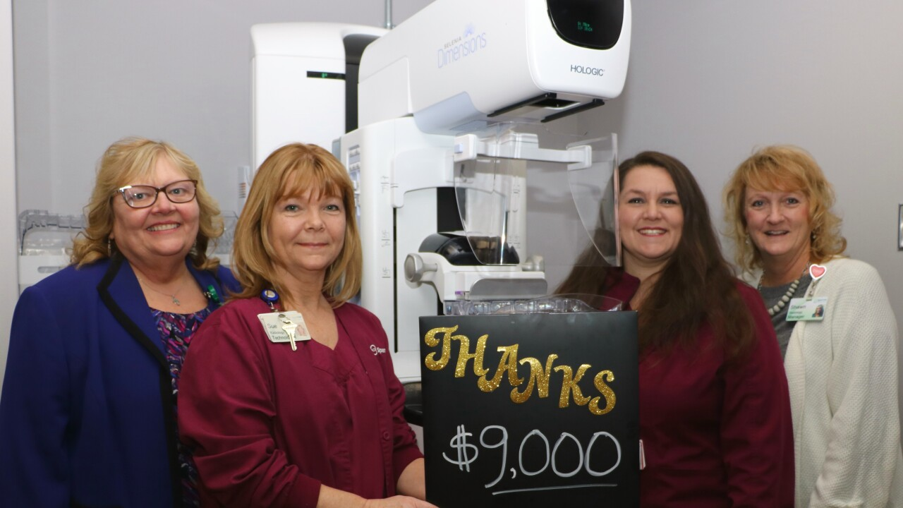 Auxiliary donation Radiology