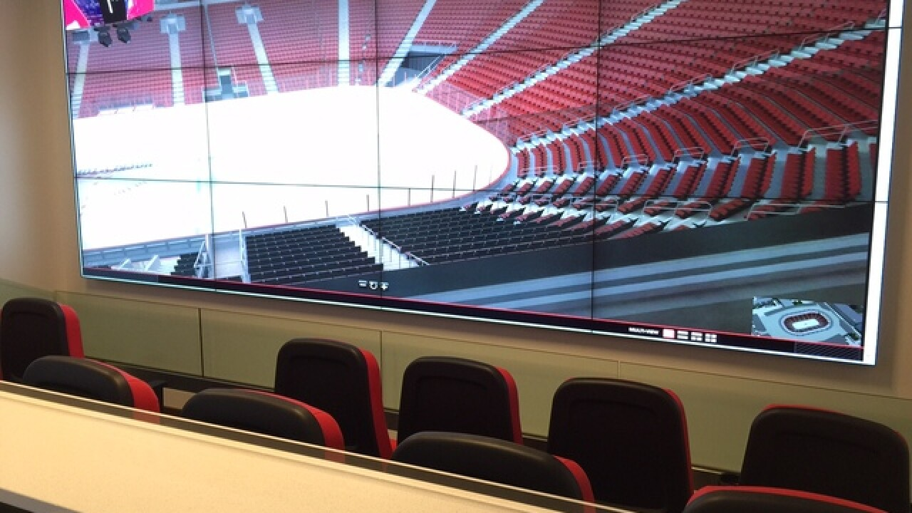 PHOTOS: First look at new Red Wings arena models